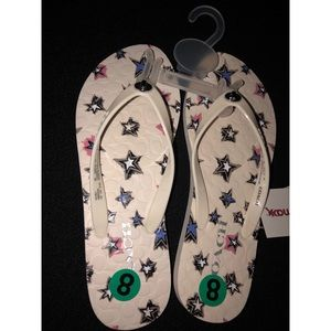 COACH Abbigail Flip Flops